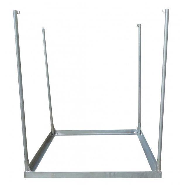 コンテナバッグスタンド 逆三角形 差しこみ式角型スタンド 1m3バッグ対応 FV-1|kanryu|04