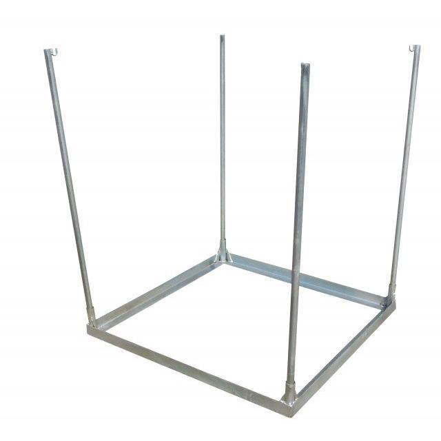 コンテナバッグスタンド 逆三角形 差しこみ式角型スタンド 1m3バッグ対応 FV-1|kanryu|05