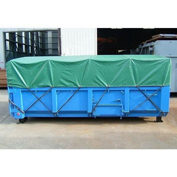 脱着式コンテナ用シート 大型用 サイズ 7.2m×3.6m ゴムバンド付 NB-20 運搬 輸送|kanryu|03