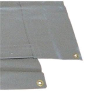 防音シート 遮音 工事用 土木 建築 シート 足場 ネット 灰色  グレー 国産  サイズ 1.8×3.4m 厚み1.0mm 2枚入|kanryu|03
