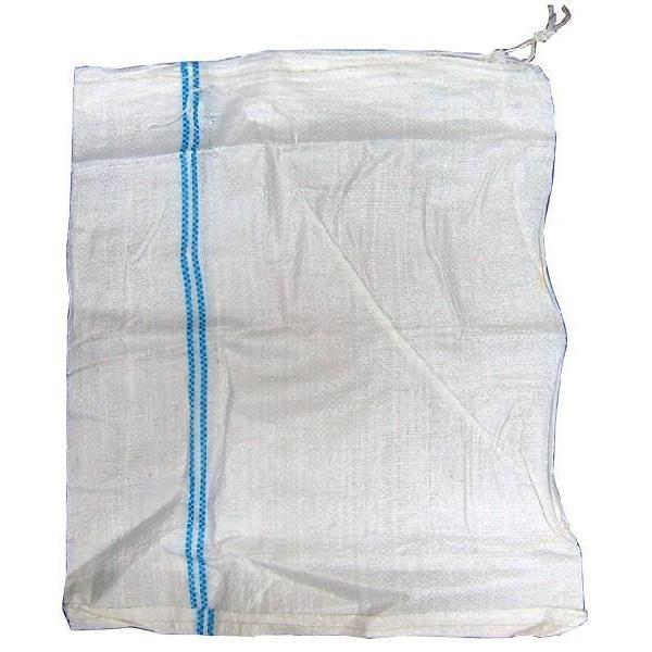 土のう袋 土嚢袋 白色 400枚 ( 50枚 × 8袋 ) 【 サイズ480 x 620 mm 】 清掃 廃材処理 工事 建築 現場 ごみ入れ|kanryu