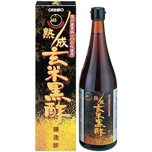 オリヒロ 熟成玄米黒酢(JAS)|kanta-store