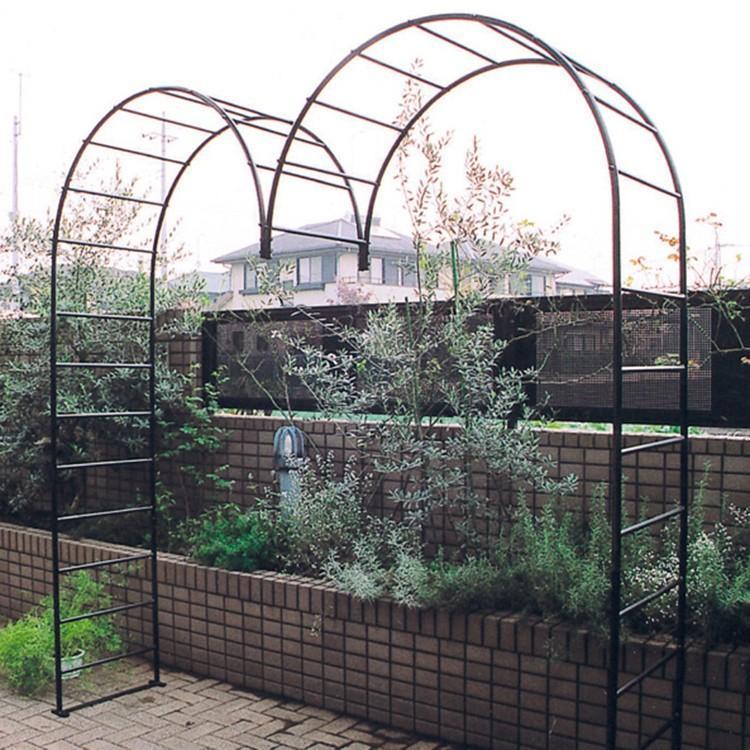 庭やアプローチの演出におしゃれなデザインのガーデンアーチ タイプI