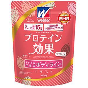 プロテイン効果   ソイカカオ味(660g)   3個    森永製菓  (4902888729249-3)|kanwa