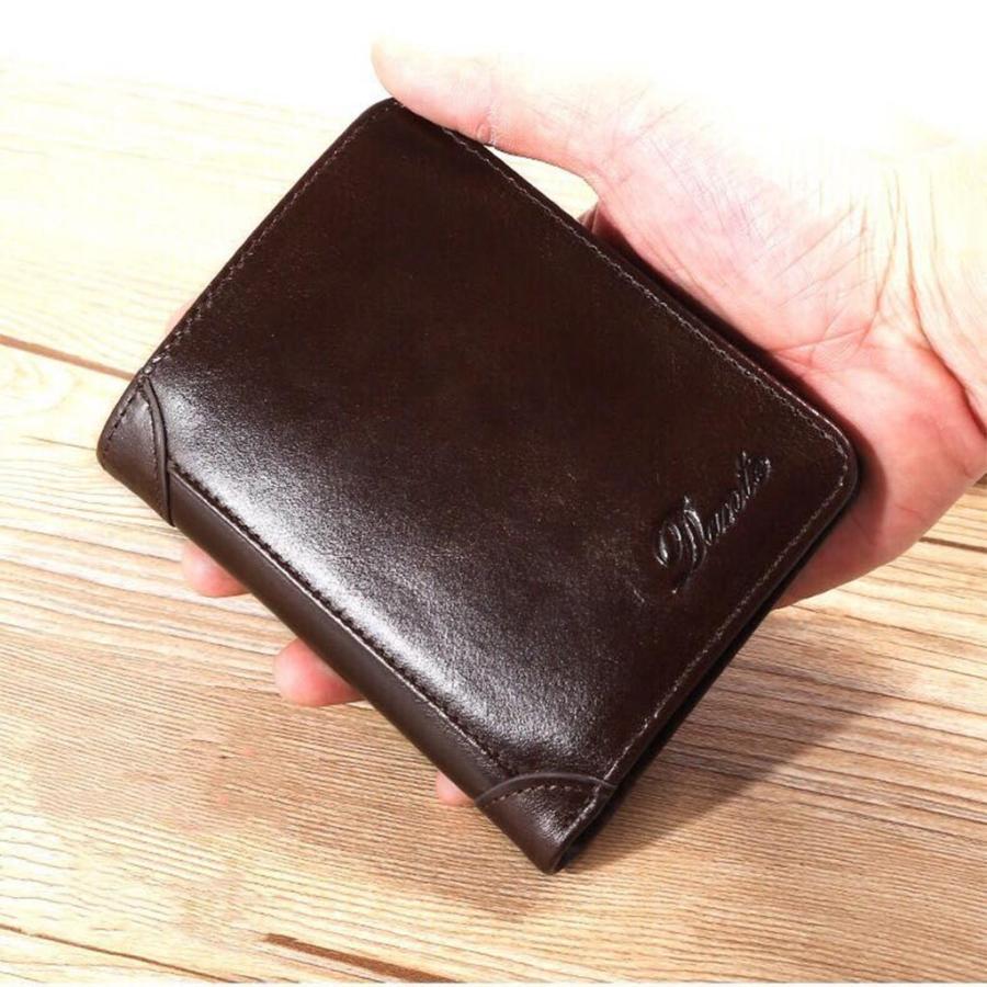 8bd71c7375ec 本革 財布 2つ折り財布 折り財布 小銭入れ カード収納 レザー カード ...