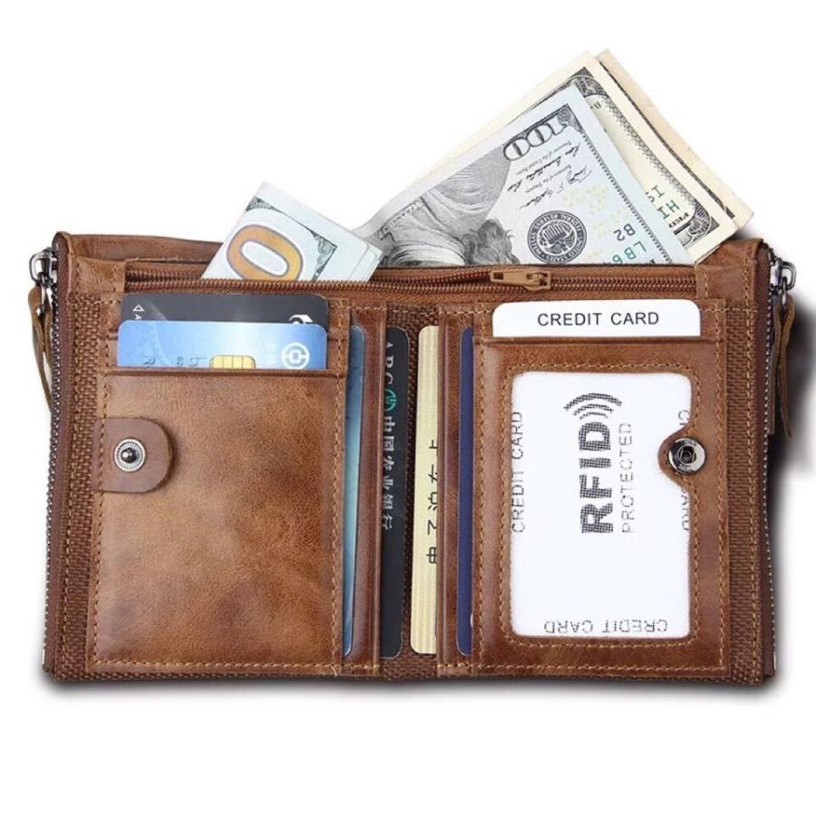 メンズ ヴィンテージ加工 財布 二つ折り財布 男性 お父さん 通勤 折財布 プレゼント 革 カジュアル 男性用