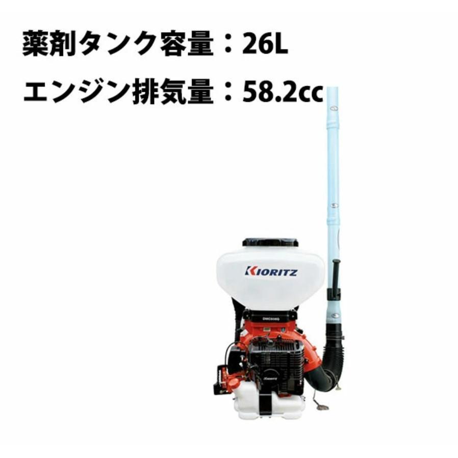 背負動力散布機DMC606G【薬剤タンク容量:26L】
