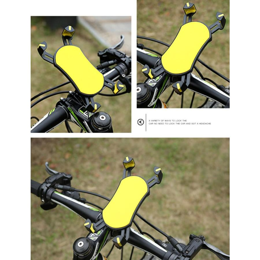 スマホホルダー 自転車 バイク スマホスタンド スマホ ホルダー ロードバイク 360度回転 iPhone11 iPhone11 Pro Pro Max X SMax XS 機種対応可 karei 09