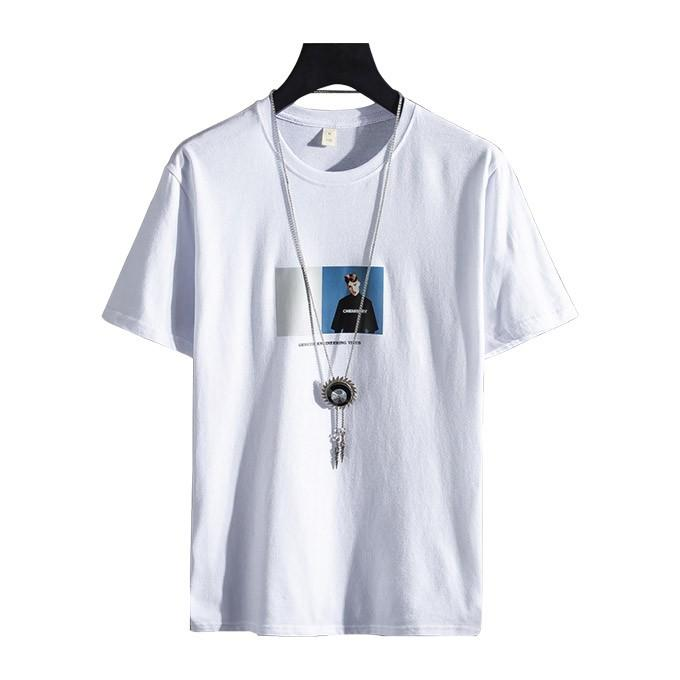 Tシャツ メンズ コットン プリント カットソー 半袖 トップス|karei|11