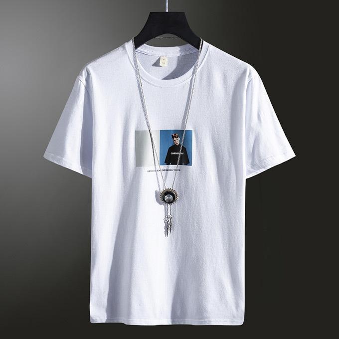 Tシャツ メンズ コットン プリント カットソー 半袖 トップス|karei|04