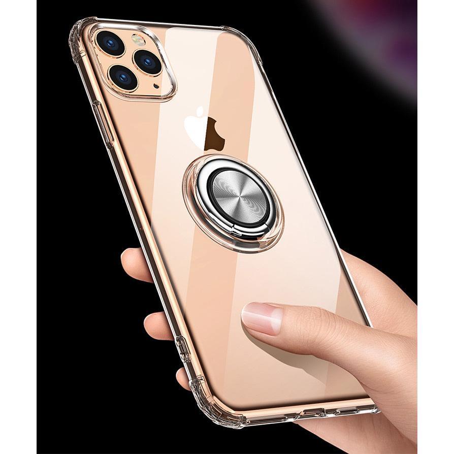 iPhone11 ケース 【ワンタッチで立ち上がるリング】iphone 11 カバー iPhone11 Pro iPhone11 Pro Max リング付 耐衝撃|karei|11