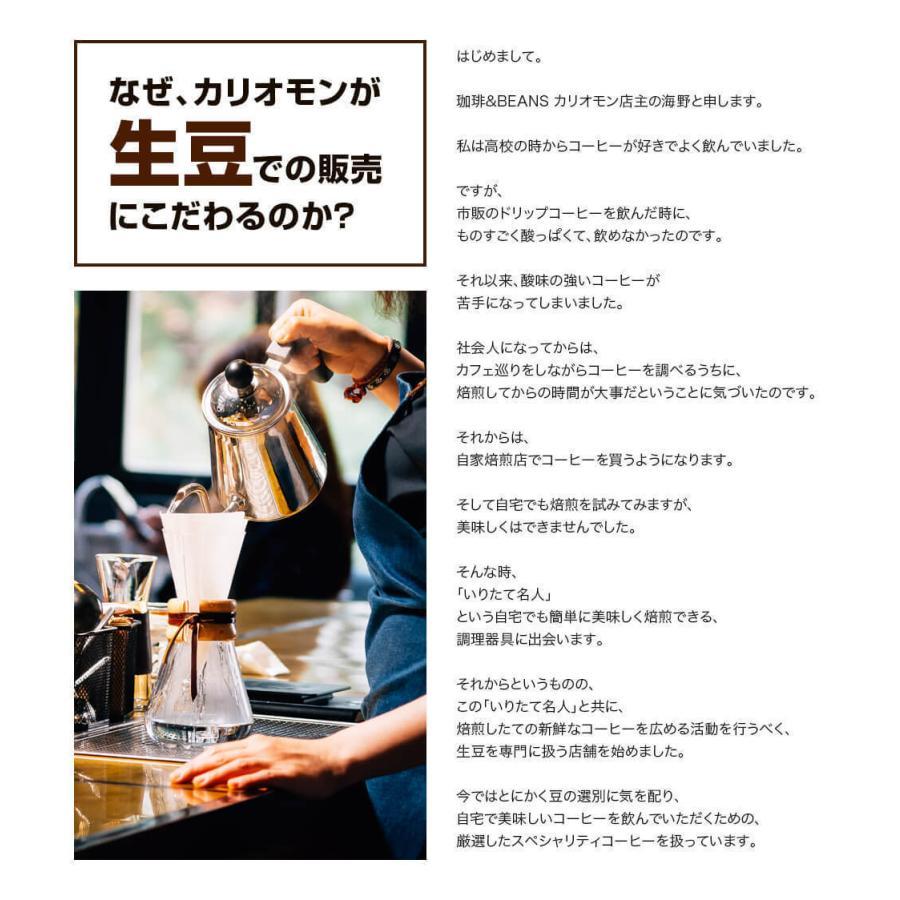 コーヒー豆 選べるコーヒー豆 3種類合計300g  お試しセット|kariomon|08