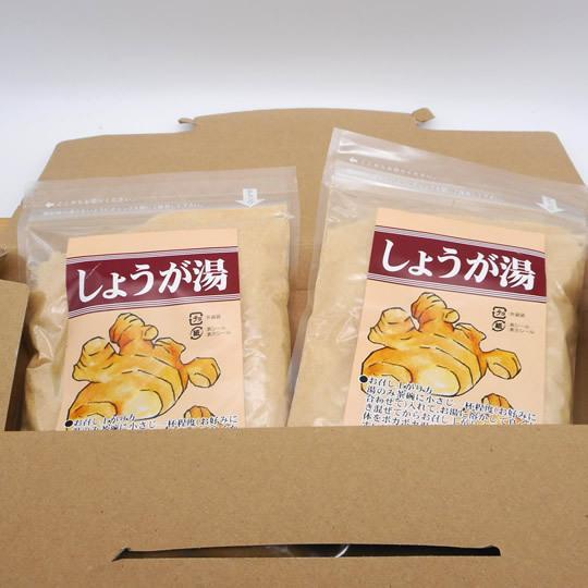 ★【ネコポス配送】税・送料込み!!しょうが湯2袋セット|karokuen