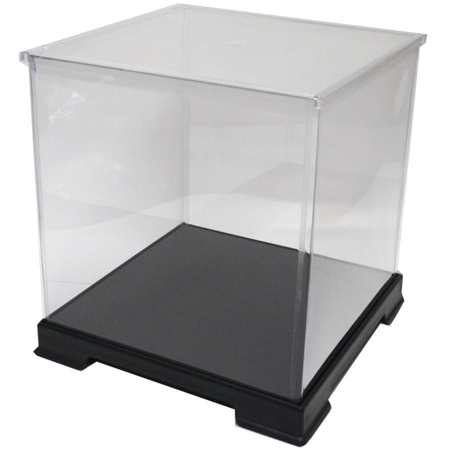 透明フィギュアケース No.43 横幅40cm×奥行40cm×高さ40cm 404040 プラスチック 組立式 ディスプレイケース|kashibako