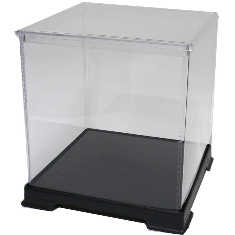透明フィギュアケース No.44 横幅40cm×奥行40cm×高さ45cm 404045 プラスチック 組立式 ディスプレイケース|kashibako
