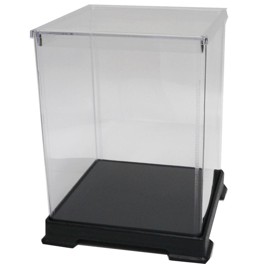 透明フィギュアケース No.45 横幅40cm×奥行40cm×高さ50cm 404050 プラスチック 組立式 ディスプレイケース kashibako