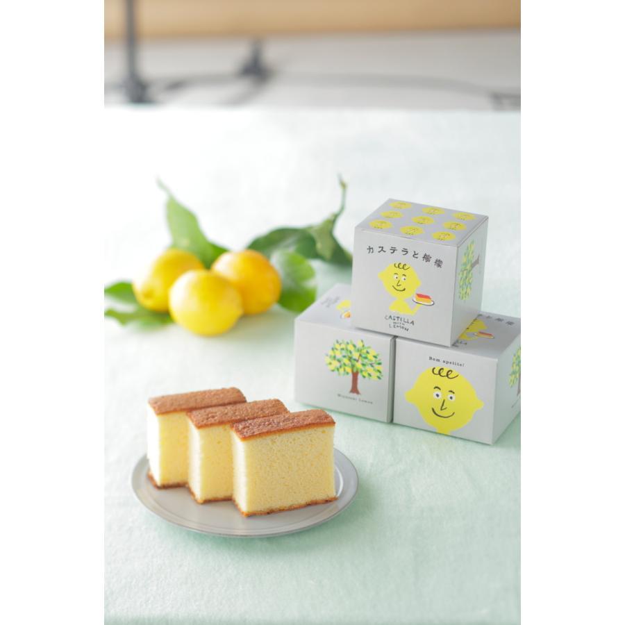 カステラと檸檬 Castella with Lemon 長崎 ギフト お取り寄せグルメ|kashuen-moricho|02