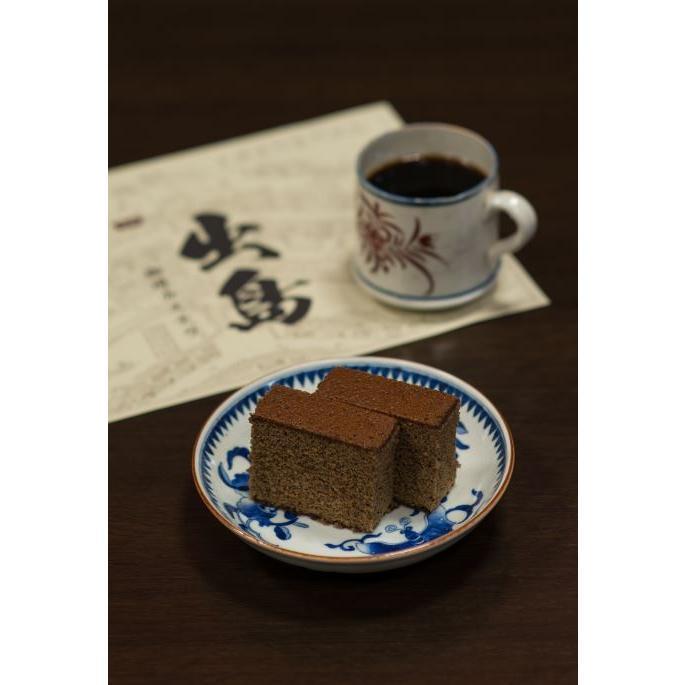 出島珈琲カステラ(5枚カット) カステラ 長崎 コーヒー|kashuen-moricho|05