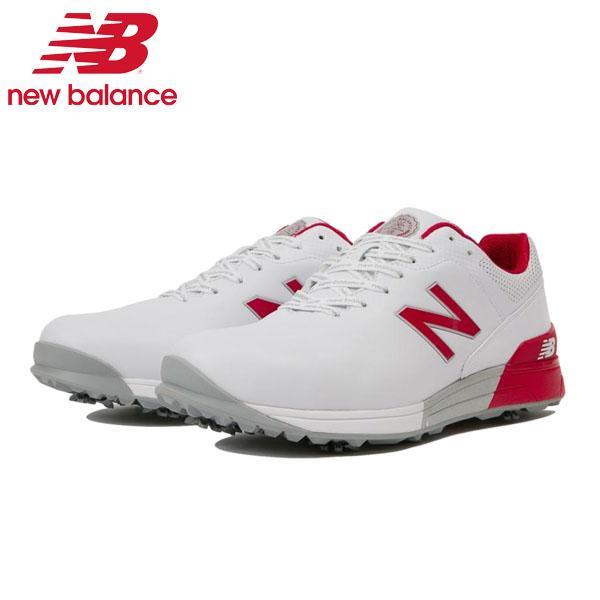 New Balance ニューバランス MG2500 R ゴルフシューズ 白い/赤