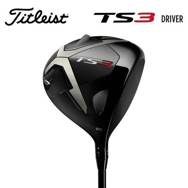 タイトリスト TS3 ドライバー ゴルフクラブ カスタムシャフト 日本正規品