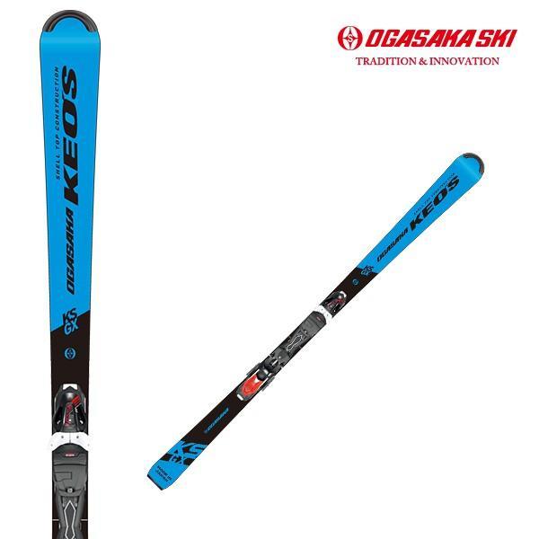 2019/2020モデル オガサカ スキー板 KS-GX/BL ケオッズシリーズ チロリアPRD11GW金具セット
