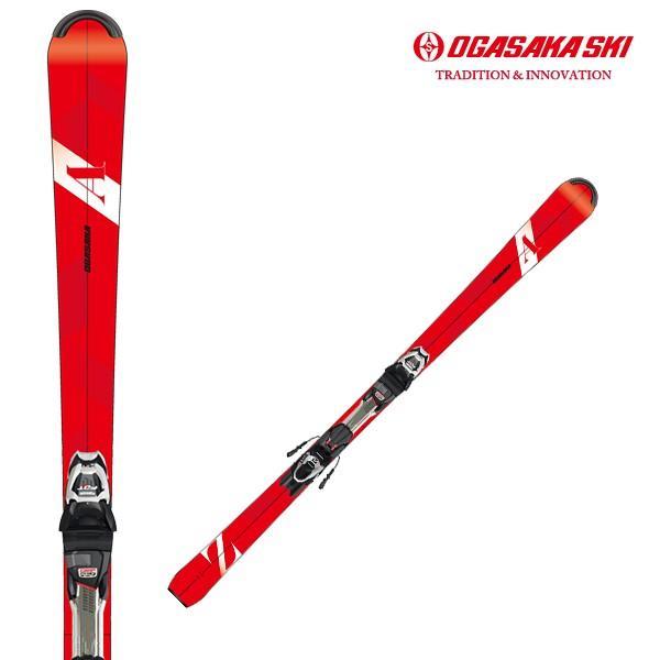 2019/2020モデル オガサカ スキー板 AZ-RD オールラウンドモデル マーカー FDT TLT10金具セット