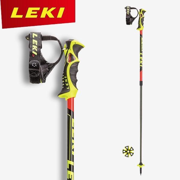 2017/2018モデル LEKI レキ スキーポール VENOM VARIO S 伸縮調整式