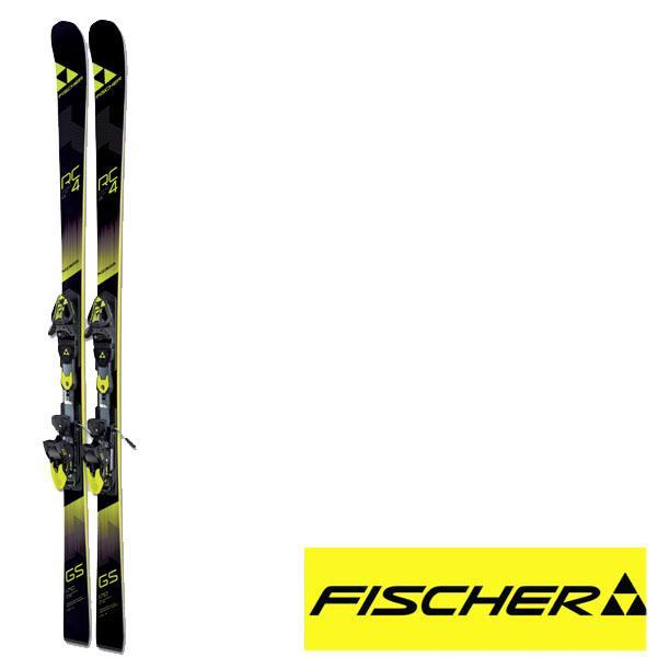 2017/2018 FISCHER フィッシャー ジュニア レーススキー 板 RC4 W.C.GS JR. CURV BOOSTER +RC4Z11FF金具セット