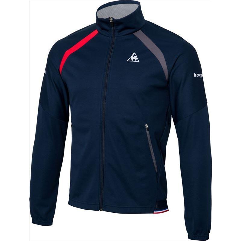 le coq sportif(ルコック) (メンズ テニスウェア) NEXTEP ボンディングジャケット ネイビー