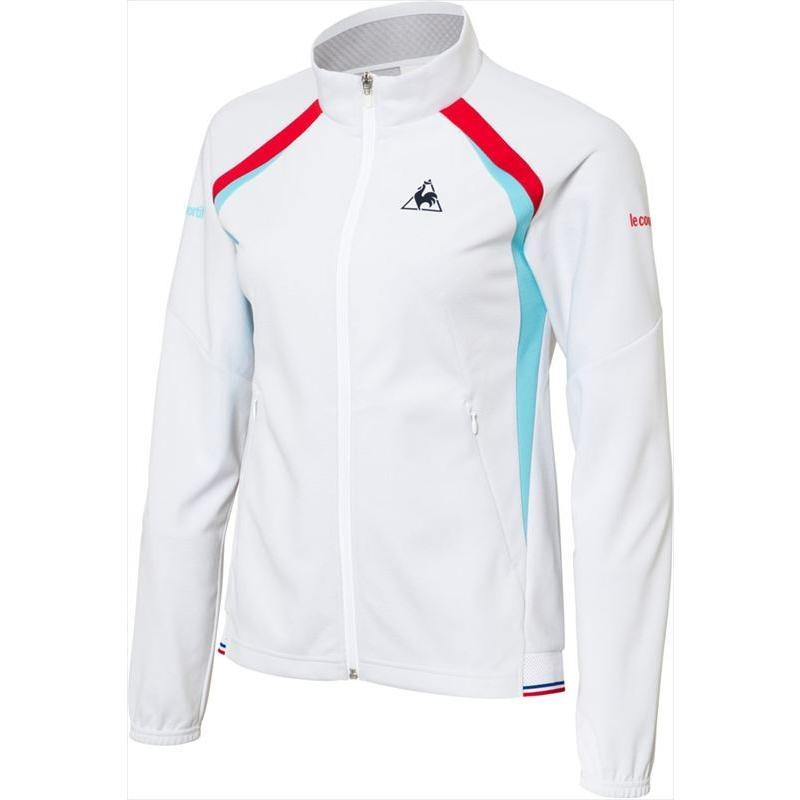 le coq sportif(ルコック) (レディース テニスウェア) NEXTEP ボンディングジャケット ホワイト