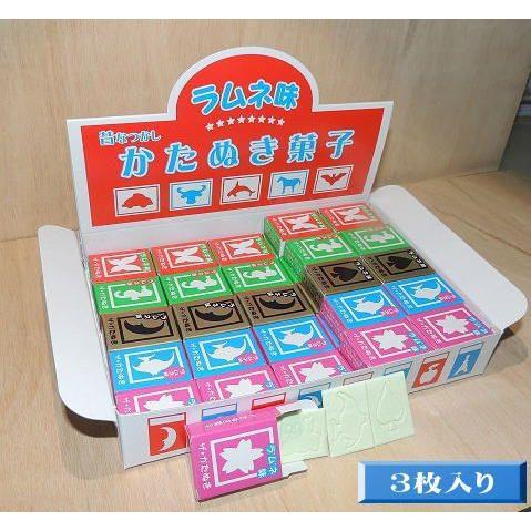 イベント用 3枚入りカタヌキ菓子|katanukigasi|02