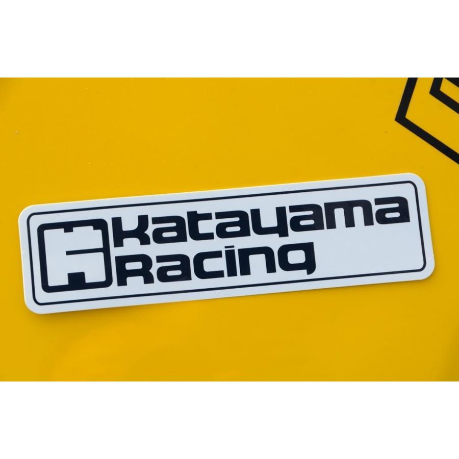 ロゴステッカー katayamaracing