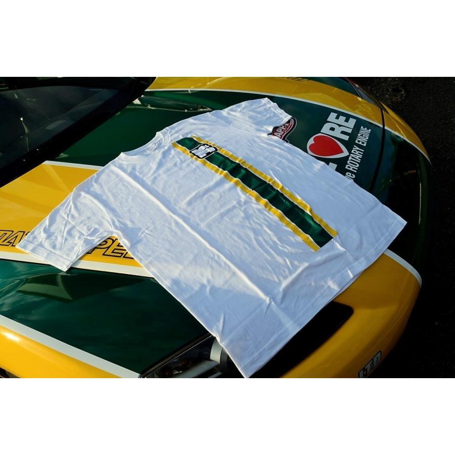 カタヤマレーシングTシャツ 白 XL katayamaracing