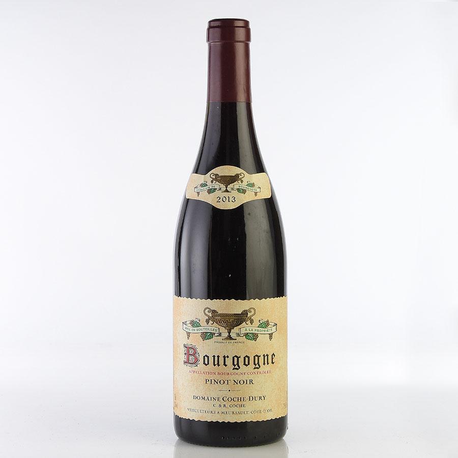 2013 コシュ・デュリ ブルゴーニュ・ルージュ (フランス ブルゴーニュ 赤ワイン)