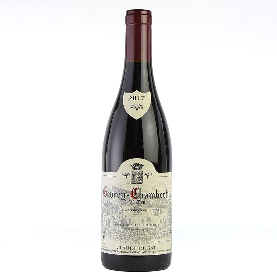 2017 クロード・デュガ ジュヴレ・シャンベルタン プルミエ・クリュ (フランス ブルゴーニュ 赤ワイン)