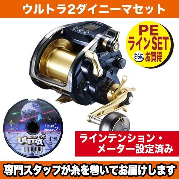 19ビーストマスター6000[Beast Master 6000]03981 8号-600m ウルトラ2ダイニーマセット シマノ