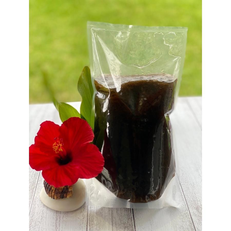もずく 沖縄県石垣島産 味付けもずく1kg×4個 もずく酢 フコイダン 送料無料 海藻|katsusuisanmozuku|06