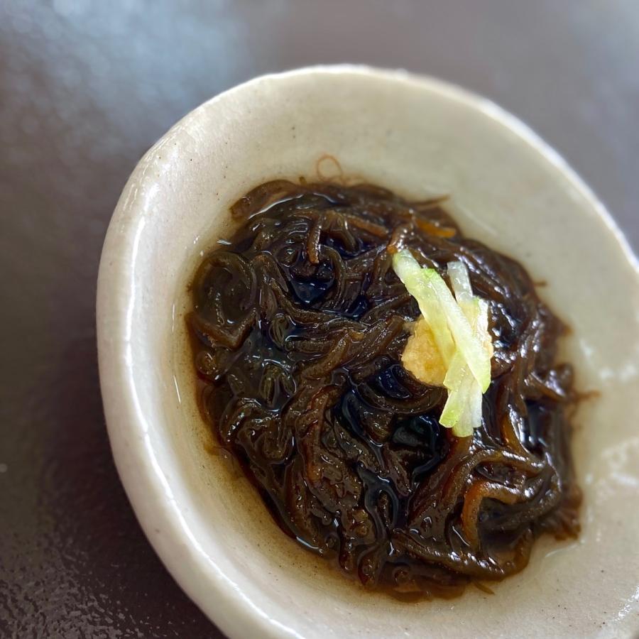 もずく 沖縄県石垣島産 味付けもずく250g×5個 もずく酢 フコイダン 海藻 送料無料 おためし|katsusuisanmozuku|05