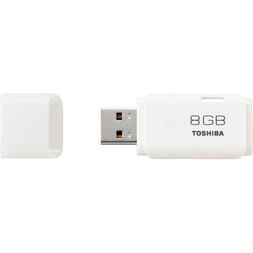 (まとめ)東芝 USBメモリー 8GB TNU-A008G【×5セット】