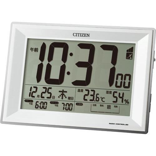 リズム時計工業 春の新作続々 おすすめ特集 シチズン 電波環境目安付き卓上時計
