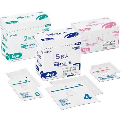 オオサキメディカル 滅菌オペガーゼ 30袋 売れ筋 RS4−5 国産品