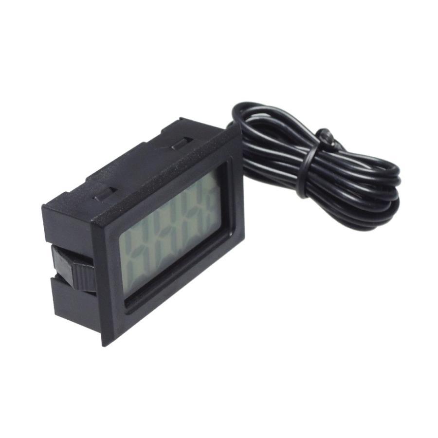 デジタル水温計 温度計 センサーコード長さ1m LCD 液晶表示 アクアリウム 水槽 気温|kaumo|03