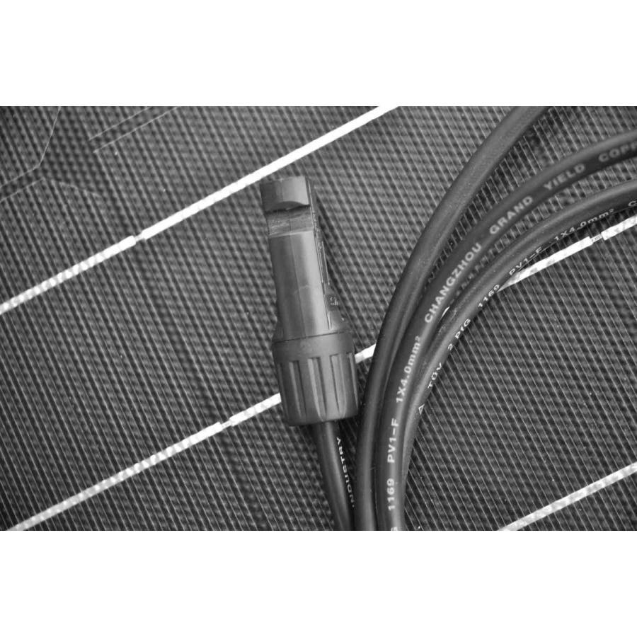 薄型 軽量 100W単結晶 セミフレキシブルソーラーパネル|kausmedia|08