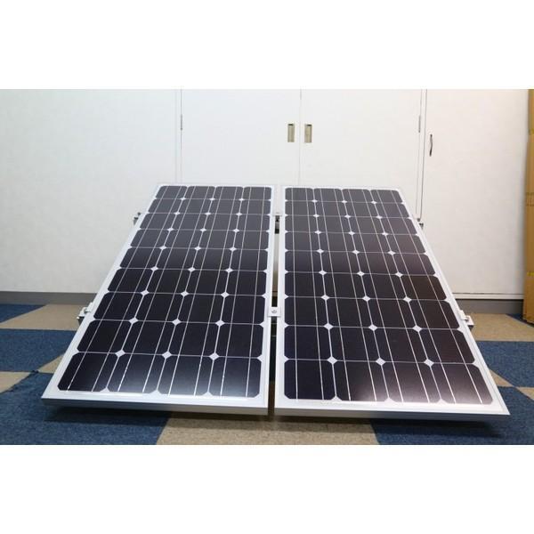 100W用ソーラーパネル架台ソーラーパネル2枚用 kausmedia 02