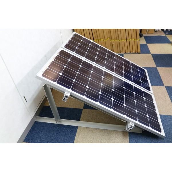 100W用ソーラーパネル架台ソーラーパネル2枚用 kausmedia 03