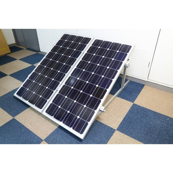 100W用ソーラーパネル架台ソーラーパネル2枚用 kausmedia 04