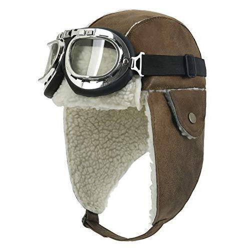 (イリリリー) ililily 飛行帽 帽子 ウィンター 冬 スノーボード・スノボ ファー 耳 flaps トラッパー トラッパー パイロッ|kavutens