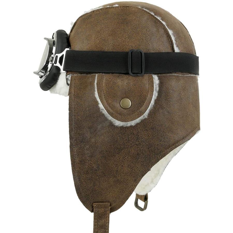 (イリリリー) ililily 飛行帽 帽子 ウィンター 冬 スノーボード・スノボ ファー 耳 flaps トラッパー トラッパー パイロッ|kavutens|02