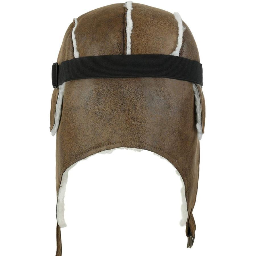 (イリリリー) ililily 飛行帽 帽子 ウィンター 冬 スノーボード・スノボ ファー 耳 flaps トラッパー トラッパー パイロッ|kavutens|04