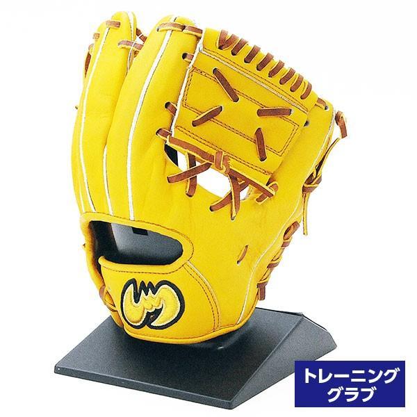 【受注生産品】 ジームス 硬式 グローブ 野球 トレーニンググラブ YH-TR メーカー型付済 イエロー, ライフサポート よっしー c2ed9315